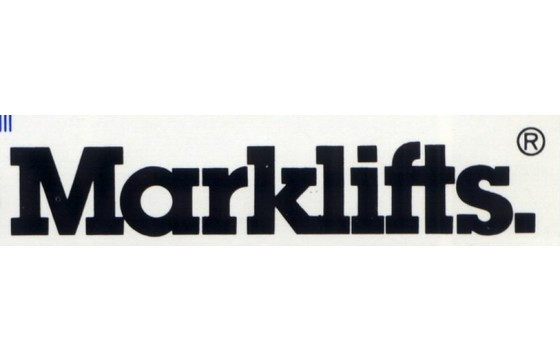 MARKLIFT Decal,  ( CH-Series - WHITE LETTERS ) Part MRK/181933