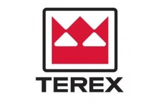 TEREX  Metal Decal, (DRIVE)  ALL BOOMS Part MRK/16909