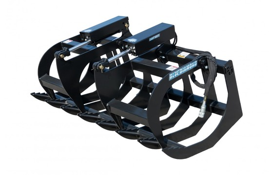 """Root Grapple 66"""" Light Duty, Dual Clamps"""
