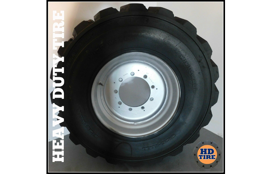 (1) 15-19.5 Used Air OTR 14 Ply Tire 15x19.5 15195 Tyre