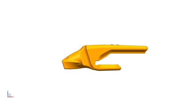 "Bucket Tooth Adapter 1 1/2"" Lip, Part #802A-V29"