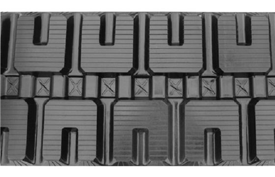 C-LUG Tread Rubber Track: 450X100X62