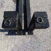 """1.25"""" Rectangular Clip Fork Kit"""