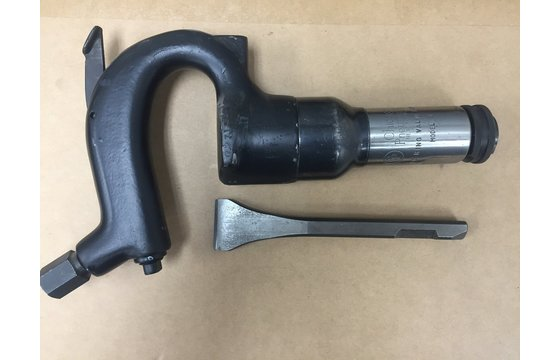 Refurbished Chicago Pneumatic Weld Flux Chipping Hammer Scaler + 1 Bit CP-FC
