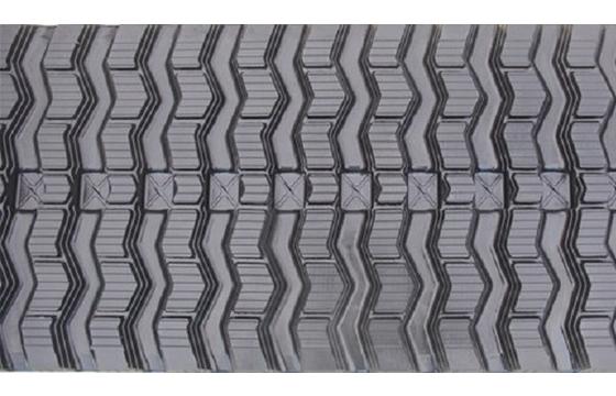 Zig Zag Tread Rubber Track: 450X100X50