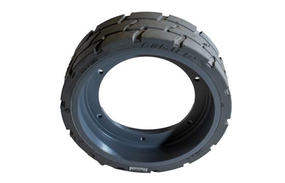MEC 12X4(175.6) Scissor Lift Tire & Wheel Assembly