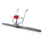 Tomahawk TVSA‐H Vibratory Power Concrete Screed with TSB10‐P 10' Magnesium Blade Board