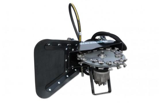 """Stump Grinder 24"""" Wheel 24.5-29 Gpm 90cc Case Drain Required"""