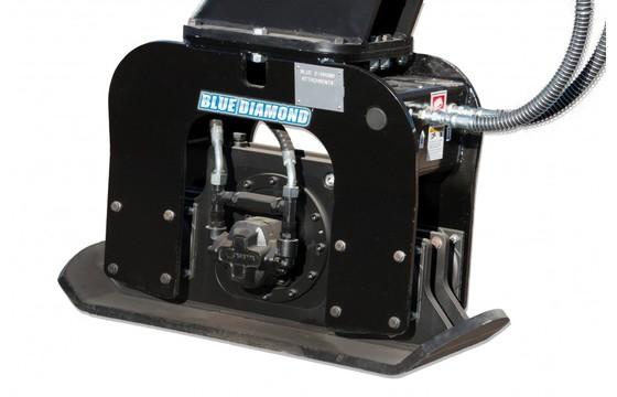 "Excavator Plate Compactor C410 12000-22000# Machines 32"" X 16"""