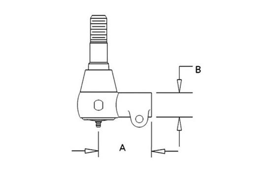 1280566C2 POWER STEERING CYLINDER END