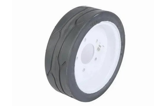 Left-Side Reconditioned 12x4 Solid Tires for SkyJack SJ3215 & SJ3219 Part #152039