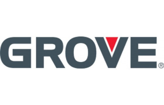 GROVE  Decal, ( DNGR-CRUSHING HAZARD )  AMZ    Part GRV/7376007492