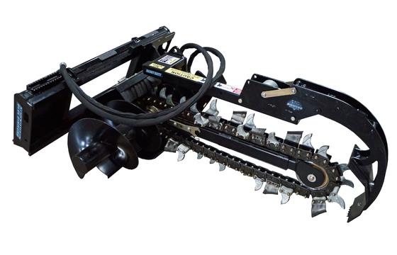 "Trencher, 36"" Depth, 6"" Combo Chain, Includes Crumber Aand Uni Mini Mount"