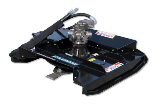 """Brush Cutter, Mini Skid Steer, 50""""  80cc 13-20 Gpm Uni Mini Mount"""