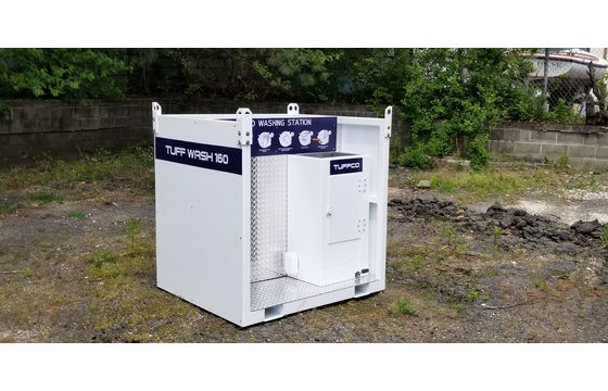 30 Gallon Touchless Construction Site Hand Washing System TW160-C