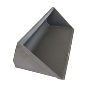"36"" Wide Mini Skid Steer Bucket - Mini-Universal Quick Attach"
