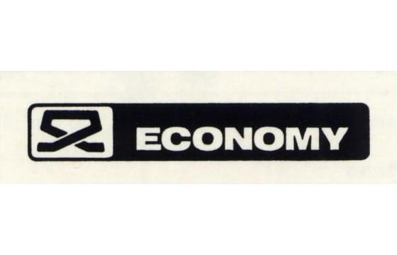 ECONOMY  Nameplate, ( E-STOP )  Part ECN/44684-6