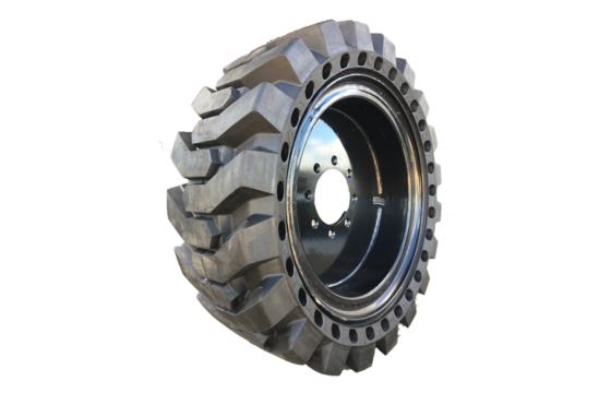 SKS-Airide Premium Solid Skid Steer Tire 10-16.5