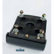 Bomag 6 in / 160mm Shoe Kit for BT60 and BT65 Tampers