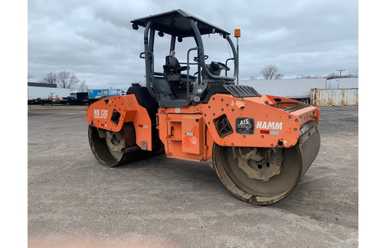 2007 Hamm HD120V Double Drum Roller