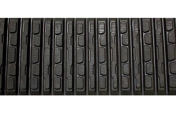 Dominion 381X102X42 Rubber Track for Caterpillar 247B, 257B, 257B3, ASV/Straight Bar Tread Pattern
