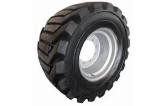 Left-Side 33/15.50-16.5 Used Take-Off Air-Filled Tires for JLG 450A & 450AJ Part #0257756