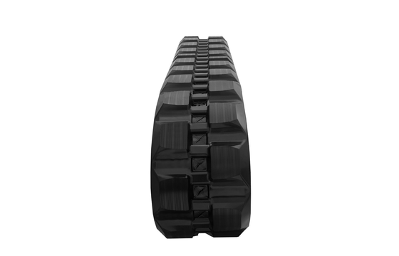 Staggered Block Rubber Track: 450X86X58