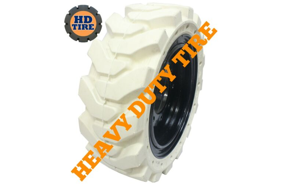 (1) 33x12-20 Traxter Solid Non-Marking on 8 Hole Wheel, 33x12x20, 331220 Tyre