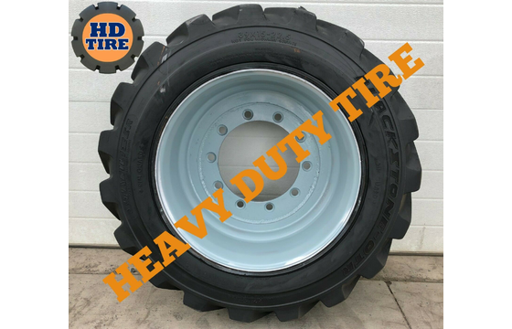 (1) 39x15-22.5 Used Foam Fill Tire, 39x15x22.5, 391522.5, 39-15225,3915225 Tyre