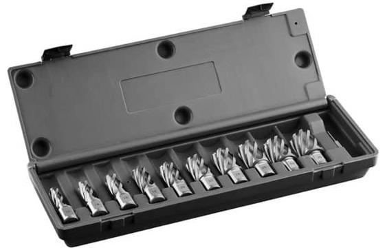 """Euroboor HSS.KIT/10L-I2 HSS 10 Piece Cutter Set 2"""""""