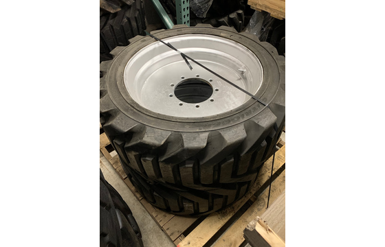 Right-Side 355/55D625 Used Take-Off Foam-Filled Tire Assembly for JLG 600A & 600AJ Part #4520345
