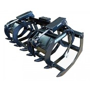 "Root Grapple 66"" Hd, Dual Clamps"