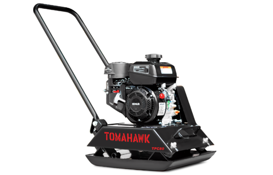 Tomahawk TPC80 Vibratory Plate Compactor with Kohler Engine