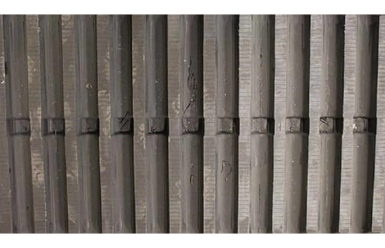 500X100X65 Rubber Track - Fits Morooka Model: MST600VD, Straight Bar - Non Asv Tread Pattern