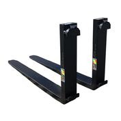 "2x5x60 CL3 Standard ITA Forklift Fork - Pair, 20"" ( 508 mm) Tall Carriage"