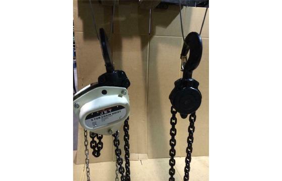 5 Ton JET Chain Fall Manual Triple Spur Gear Hoist 10ft Lift SMHX-5-10 121720