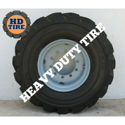 (1) 445/65D22.5 USED FOAM FILLED OTR TIRE/WHEEL 445-65Dx22.5,44565D225, TYRE