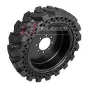 Set of 4 Maximizer MT Solid Skid Steer Tires: 31x10.5-20R
