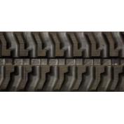 300X52.5X74 Rubber Track - Fits Nagano Model: NS25-2, 7 Tread Pattern