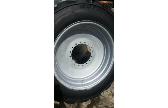 445/50D710 OTR Foam Fill Tire & Wheel for JLG 120sxj 1200,1250,1350), Tyre X 1