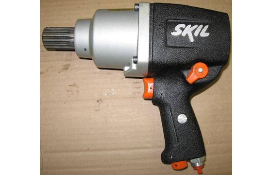 "Pneumatic Air 1"" Impact Wrench + 6 Sockets Skil 1116-9-1"