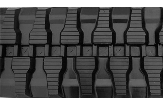 T Tread Rubber Track: 400X72.5WX72