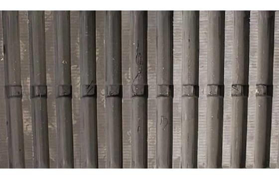800X150X66 Rubber Track - Fits Morooka Models: MST2200VDR / MST3000, Straight Bar - Non Asv Tread Pattern