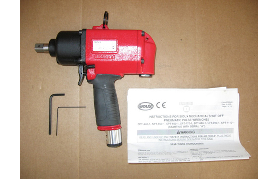 "Pneumatic Air 1/2"" Pulse Impact Wrench Sioux SPT1110-2"
