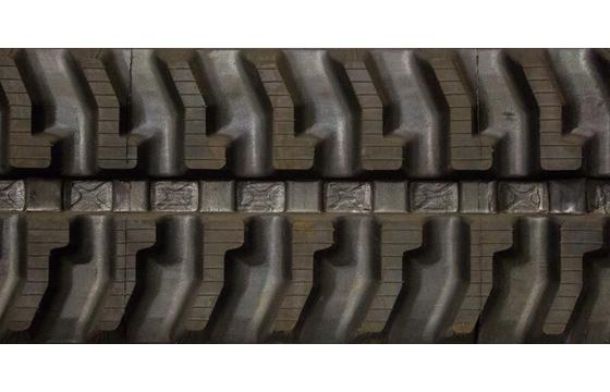 300X52.5X80 Rubber Track - Fits Terex Model: HR16, 7 Tread Pattern