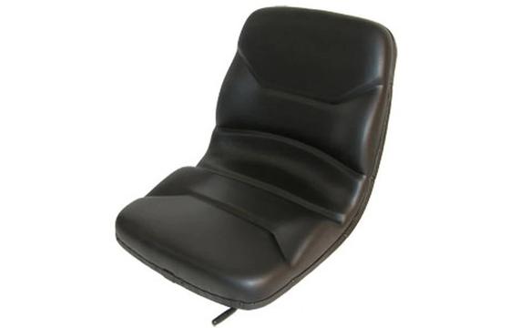 SEQ90-0022 HIGH BACK DISHPAN BLACK SEAT W/ SLIDE TRACKS