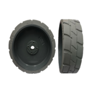 15x5 (38) Tire - Haulotte Compact 8W Scissor Lift
