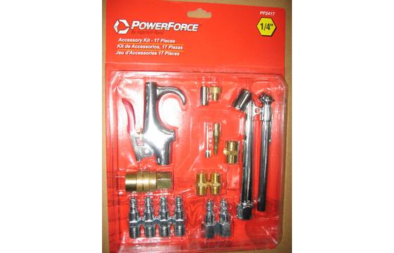 2 Piece Lot of Pneumatic Air Fitting Kit 17pcs Ingersoll Rand PF2417 - New