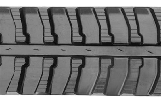 Split Straight Bar Rubber Track: 280X72X52