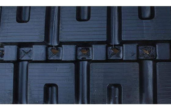Dominion 400X86X49 Rubber Track for Bobcat T190, T590, T595, T550, C-Lug Tread Pattern